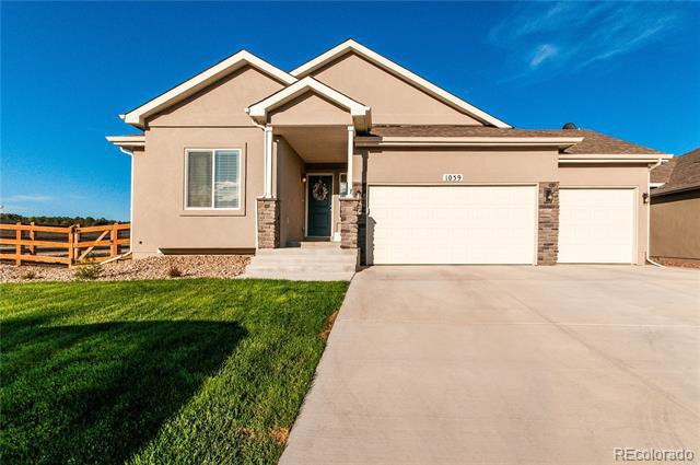 Photo of home for sale at 1059 Night Blue Circle, Monument CO