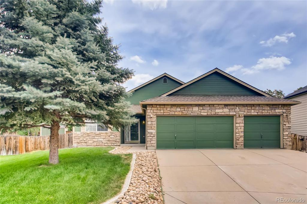 Photo of home for sale at 11148 Tamarron Place, Parker CO