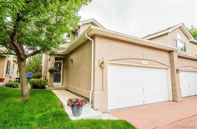 Photo of home for sale at 2407 Scranton Way South, Aurora CO