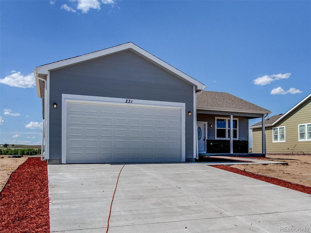 Photo of home for sale at 556 3rd Avenue S, Deer Trail CO