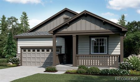Photo of home for sale at 8966 105th Place E, Commerce City CO