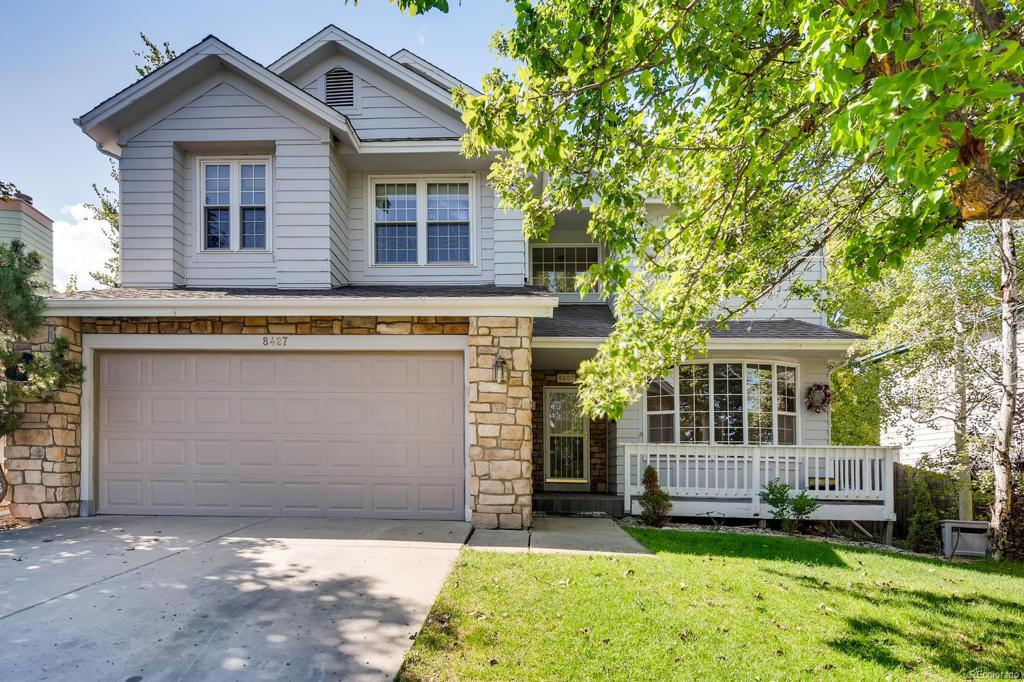 Photo of home for sale at 8427 Zinnia Court, Arvada CO