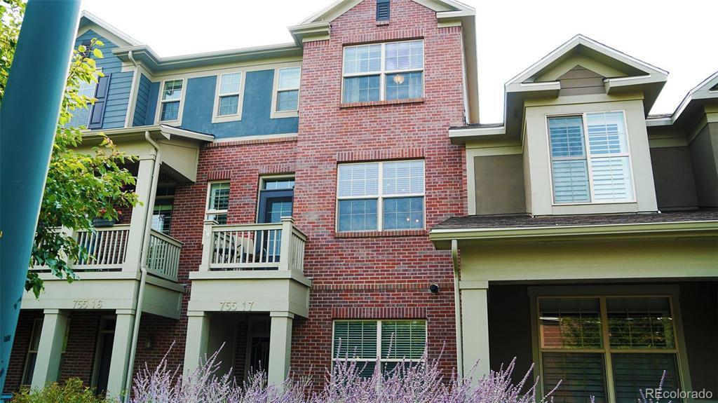Photo of home for sale at 755 Roslyn Street, Denver CO