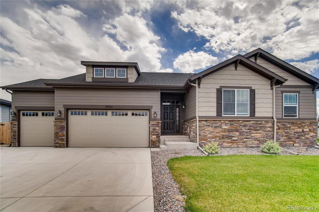 Photo of home for sale at 15924 112th Way E, Commerce City CO