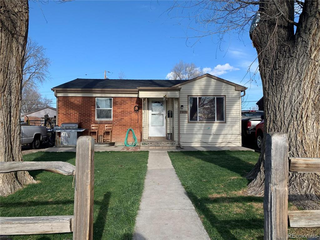 Photo of home for sale at 7970 Newport Street, Commerce City CO