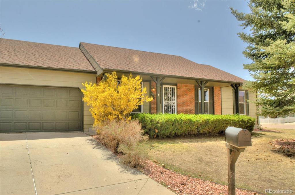 Photo of home for sale at 6215 Trout Creek Court, Colorado Springs CO