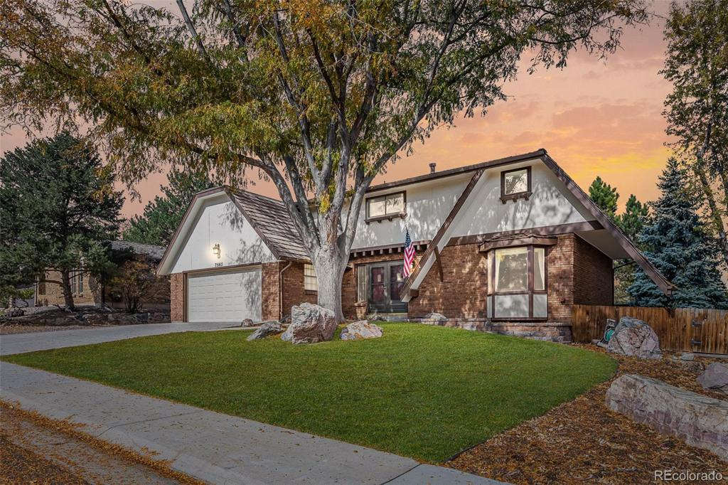 Photo of home for sale at 7563 Elmhurst Drive W, Littleton CO