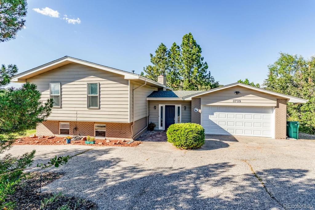 Photo of home for sale at 3739 Collins Street, Castle Rock CO