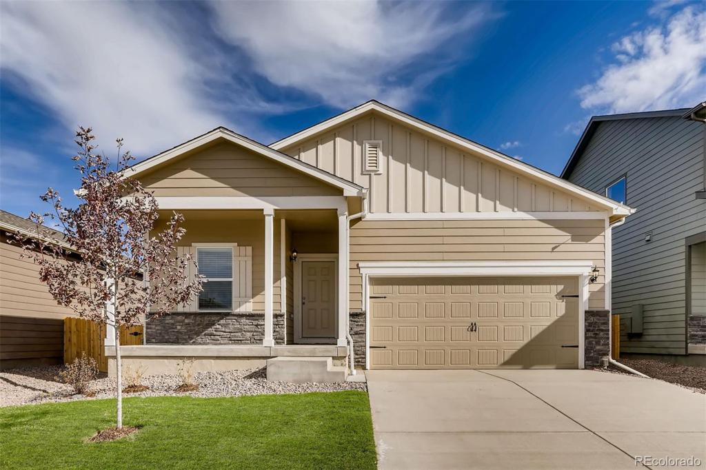 Photo of home for sale at 47512 Lilac Avenue, Bennett CO