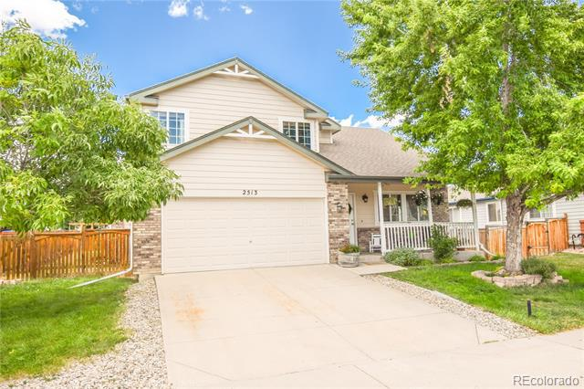 Photo of home for sale at 2513 45th Street W, Loveland CO