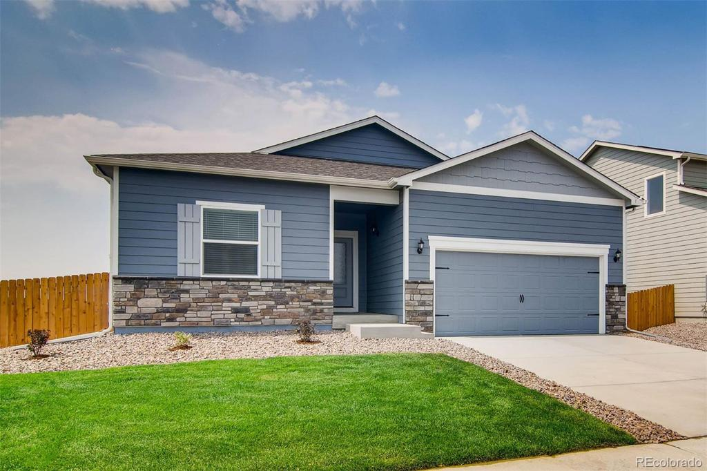 Photo of home for sale at 18141 E 89th Place, Commerce City CO