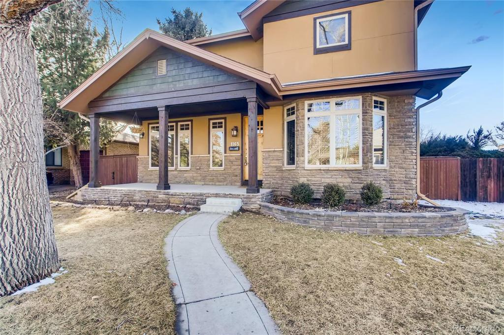 Photo of home for sale at 1165 Jackson Street S, Denver CO