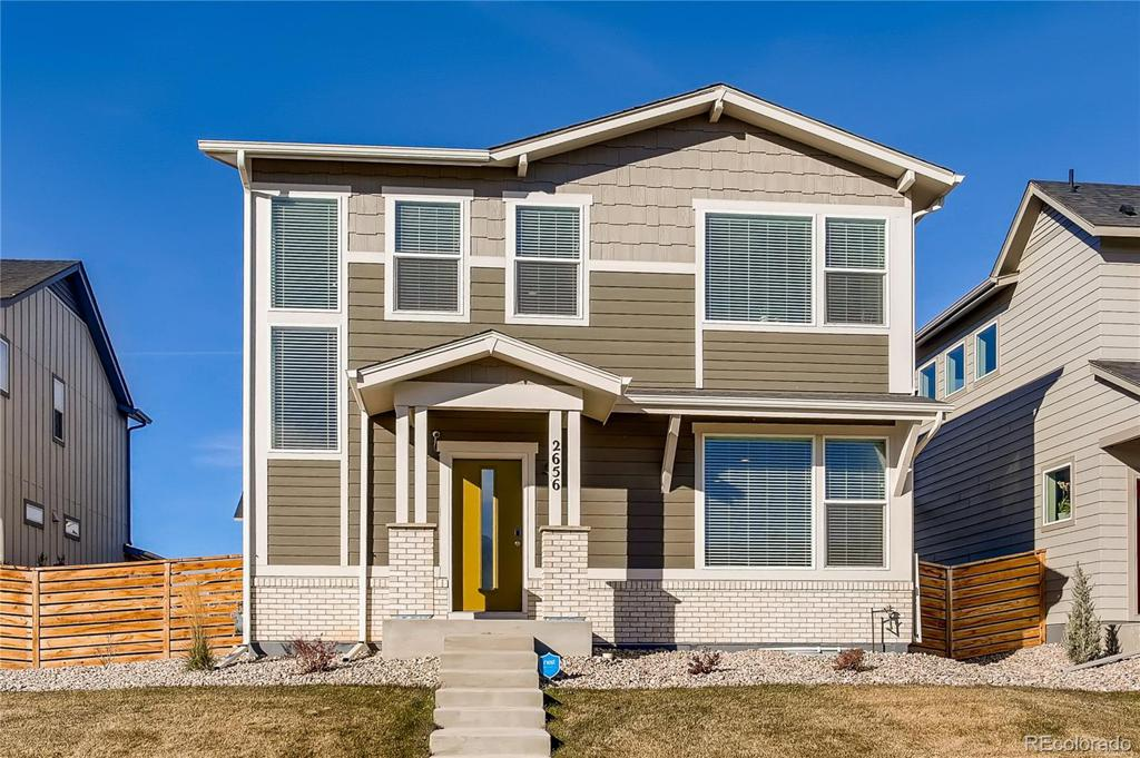 Photo of home for sale at 2656 Sykes Drive, Fort Collins CO