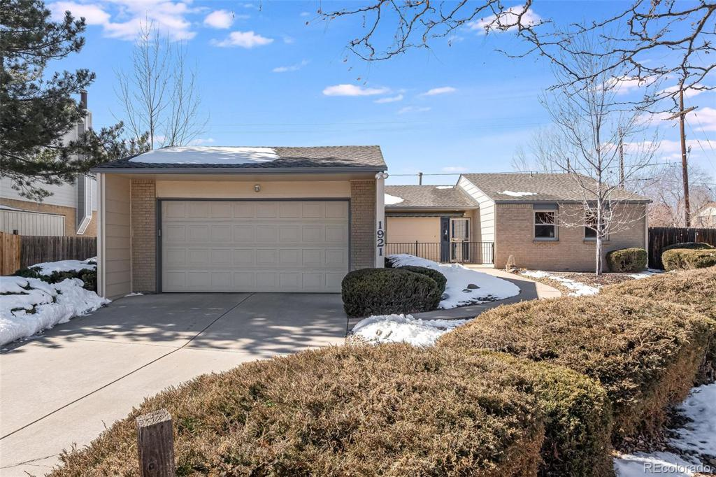 Photo of home for sale at 1921 Hoyt Way S, Lakewood CO