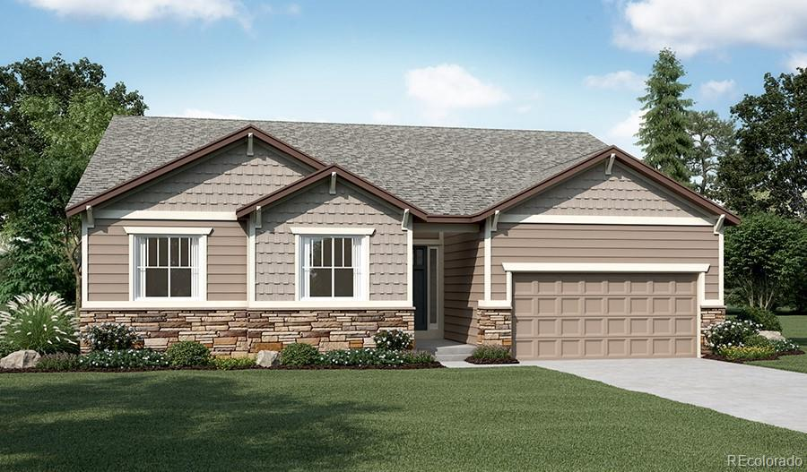 Photo of home for sale at 5248 Silver Hare Court, Castle Rock CO