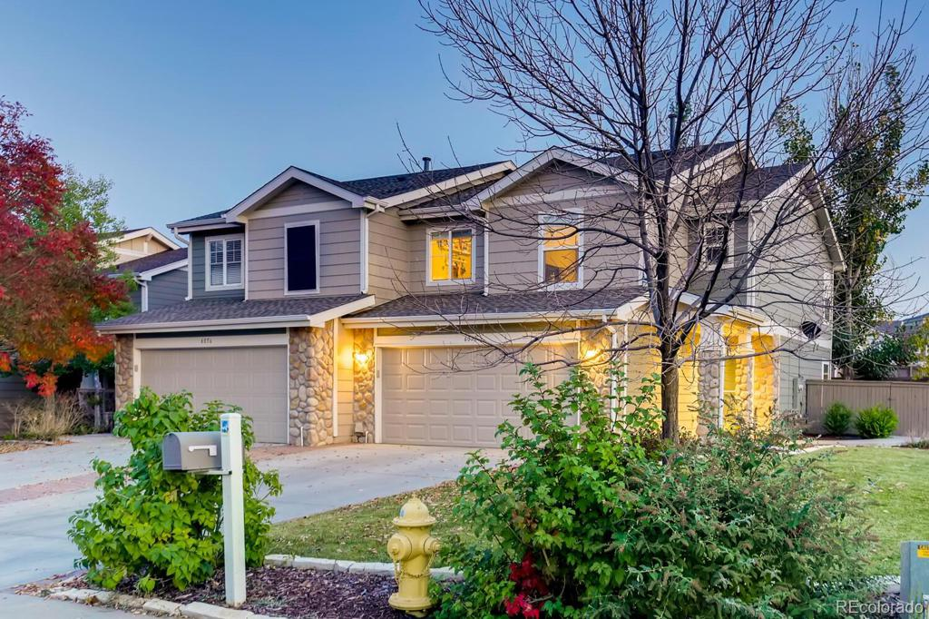Photo of home for sale at 6050 Raleigh Circle, Castle Rock CO