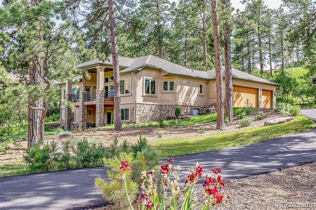 Photo of home for sale at 4126 Mohawk Drive, Larkspur CO