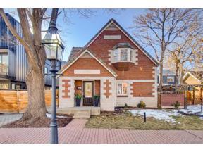 Property for sale at 1635 N Gilpin Street, Denver,  Colorado 80218