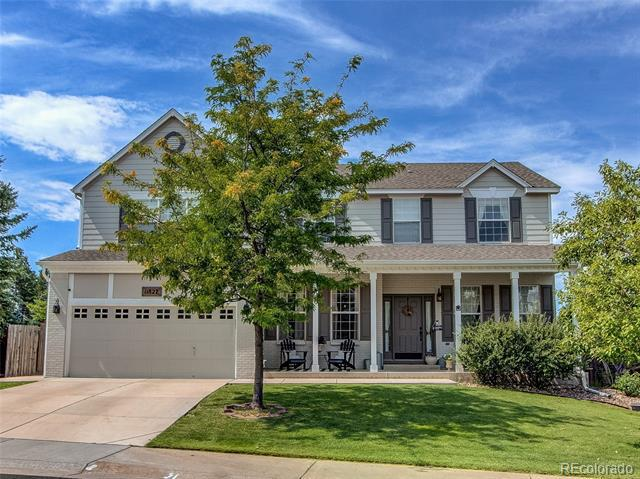 Photo of home for sale at 11827 Larkspur Drive, Parker CO
