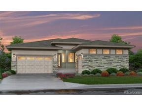 Property for sale at 16365 Spanish Peak Way, Broomfield,  Colorado 80023