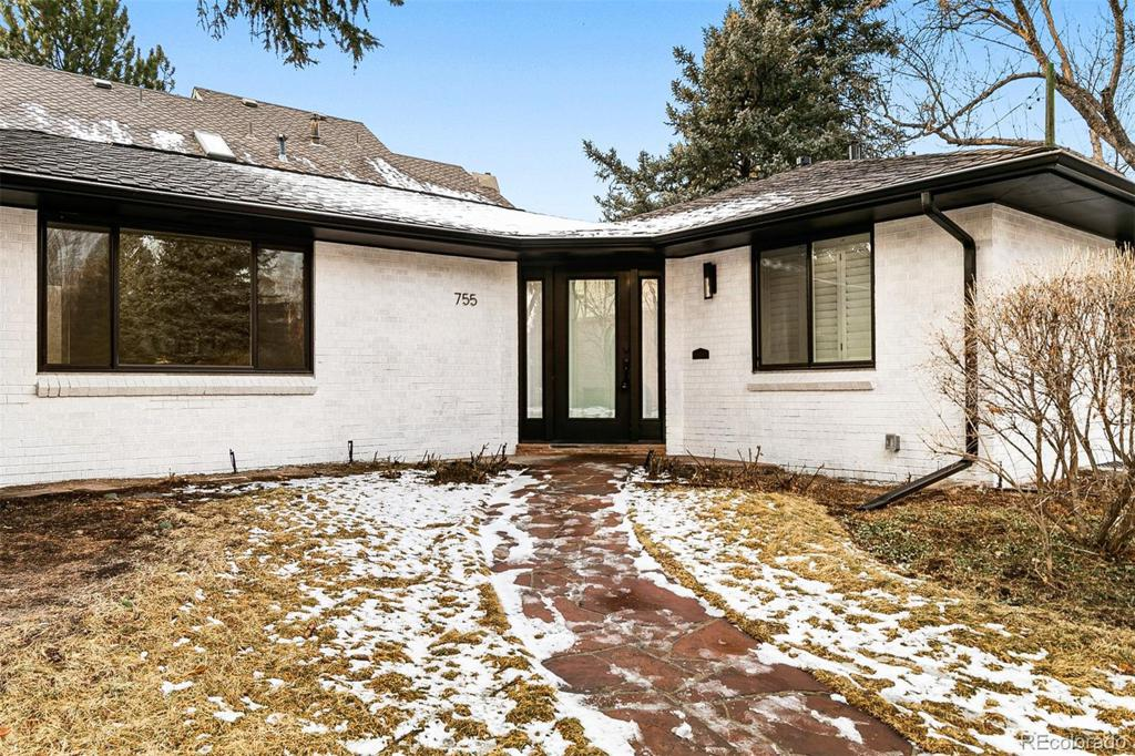 Photo of home for sale at 755 Milwaukee Street S, Denver CO