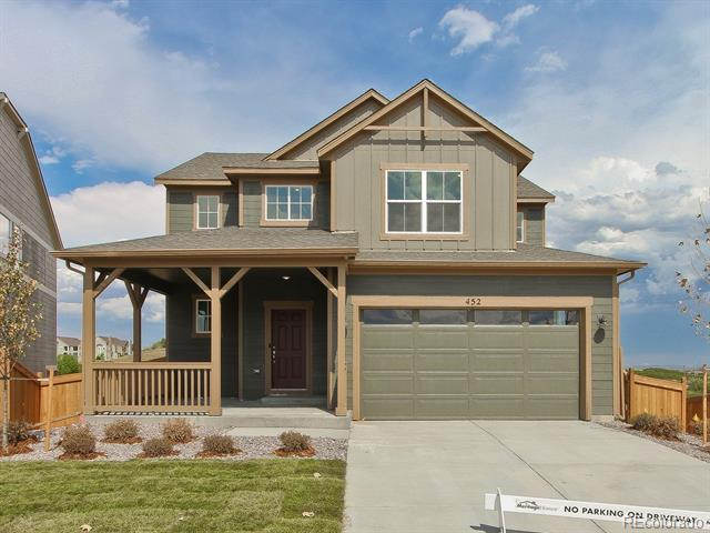 Photo of home for sale at 452 Hyde Park Circle, Castle Pines CO