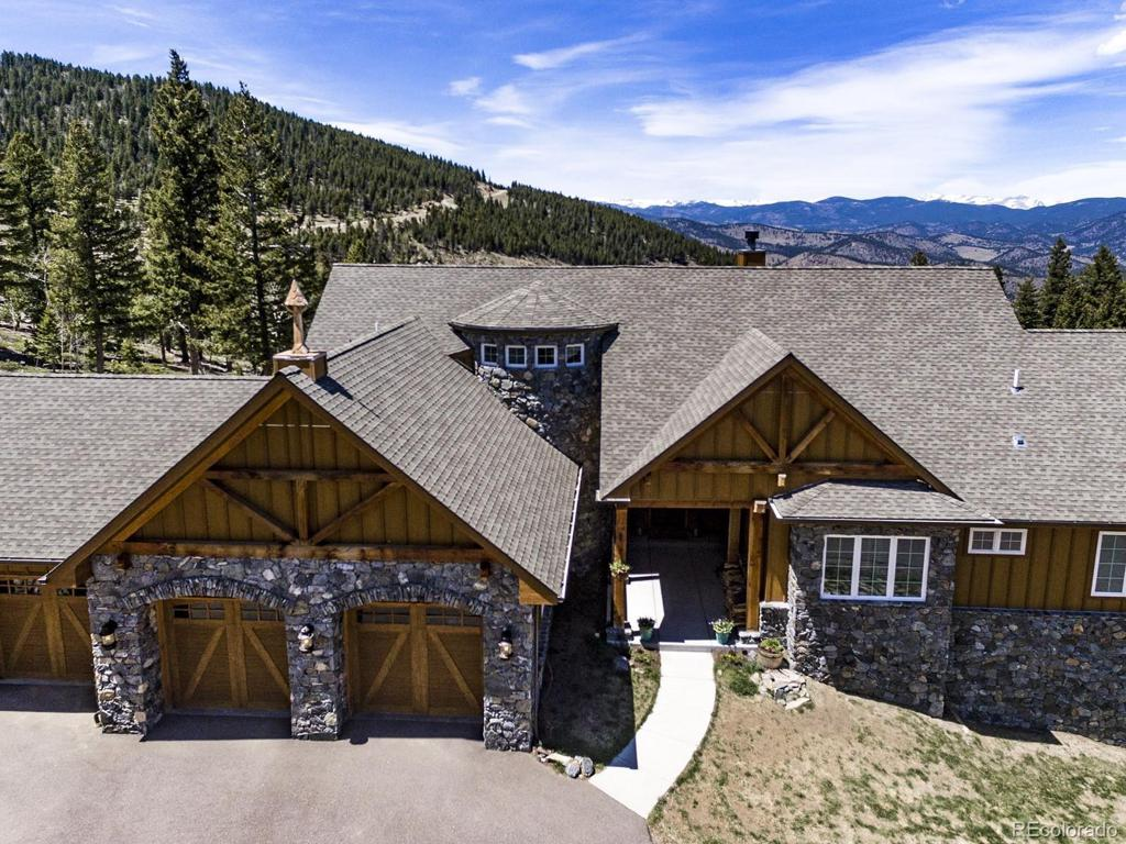 Photo of home for sale at 151 Outpost Lane, Evergreen CO