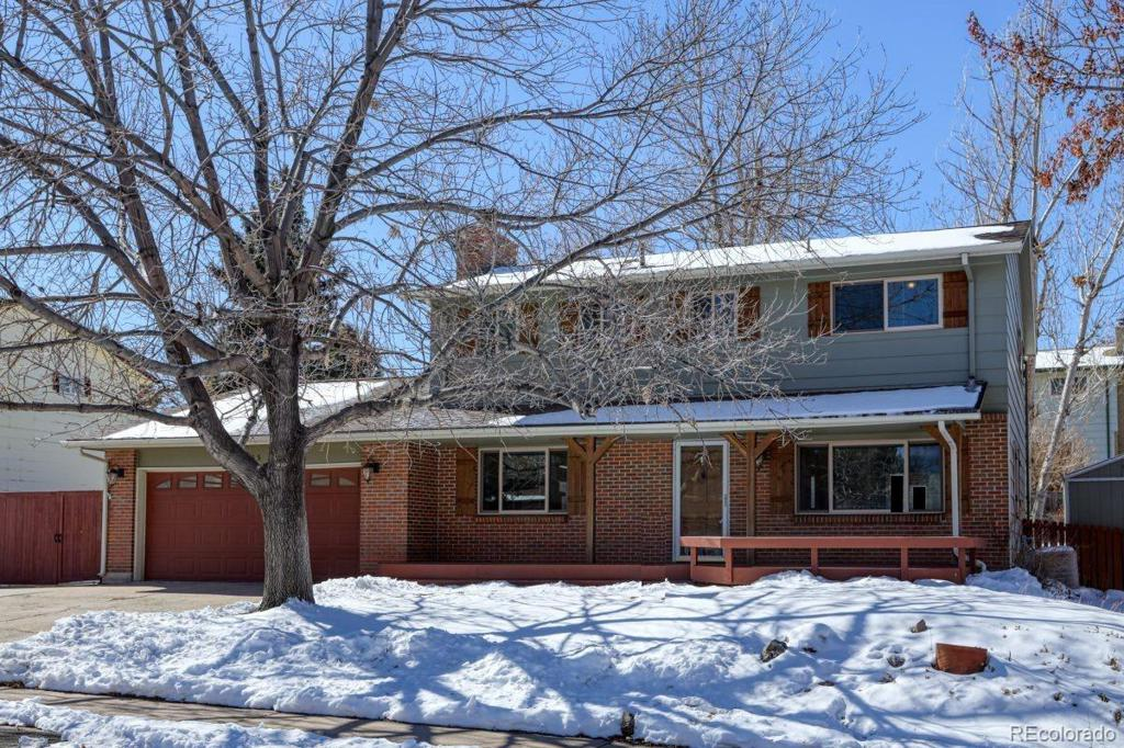 Photo of home for sale at 13255 Peacock Drive, Littleton CO