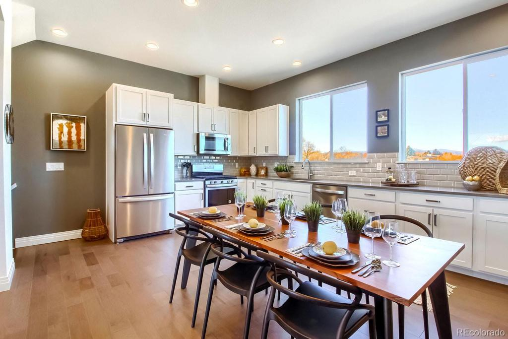 Photo of home for sale at 7821 42nd Avenue W, Wheat Ridge CO