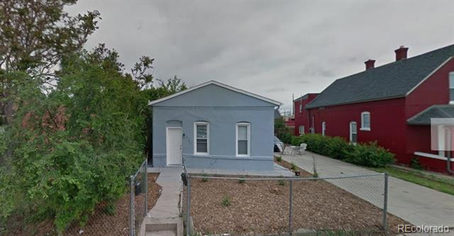 Photo of home for sale at 2739 12th Avenue W, Denver CO