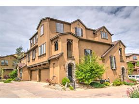 Property for sale at 10582 Parkington Lane Unit: 37-C, Highlands Ranch,  Colorado 80126