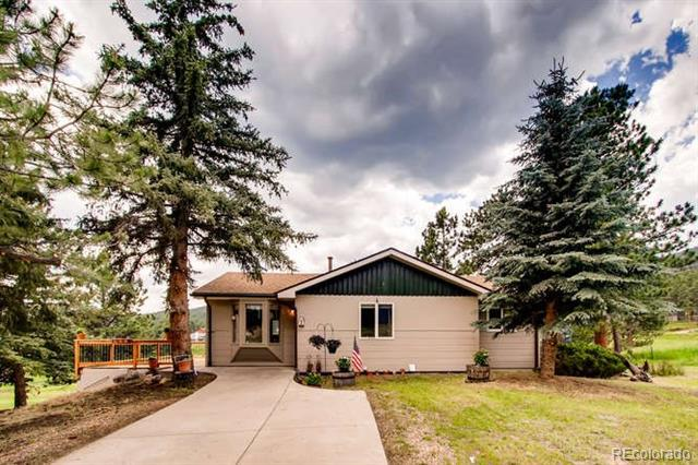 Photo of home for sale at 5184 Hatch Drive South, Evergreen CO