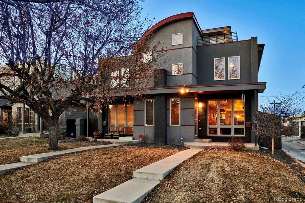 Photo of home for sale at 1927 36th Avenue W, Denver CO
