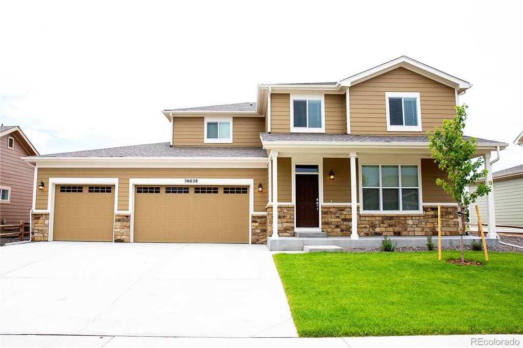 Photo of home for sale at 56183 24th Place E, Strasburg CO