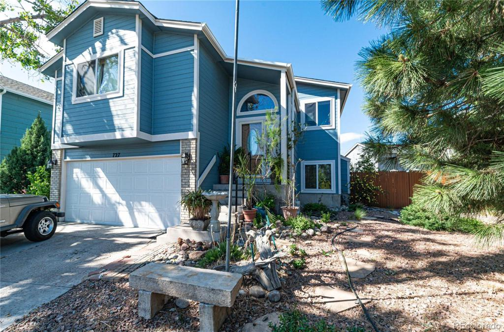 Photo of home for sale at 727 Descendant Drive, Fountain CO