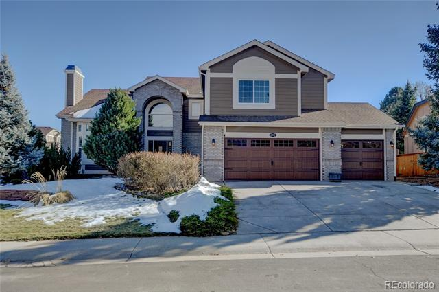 Photo of home for sale at 2092 Ashleigh Court, Highlands Ranch CO