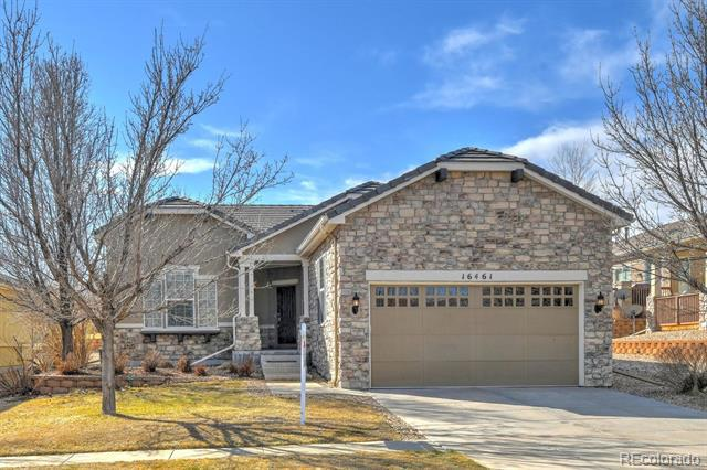Photo of home for sale at 16461 Aliante Drive, Broomfield CO