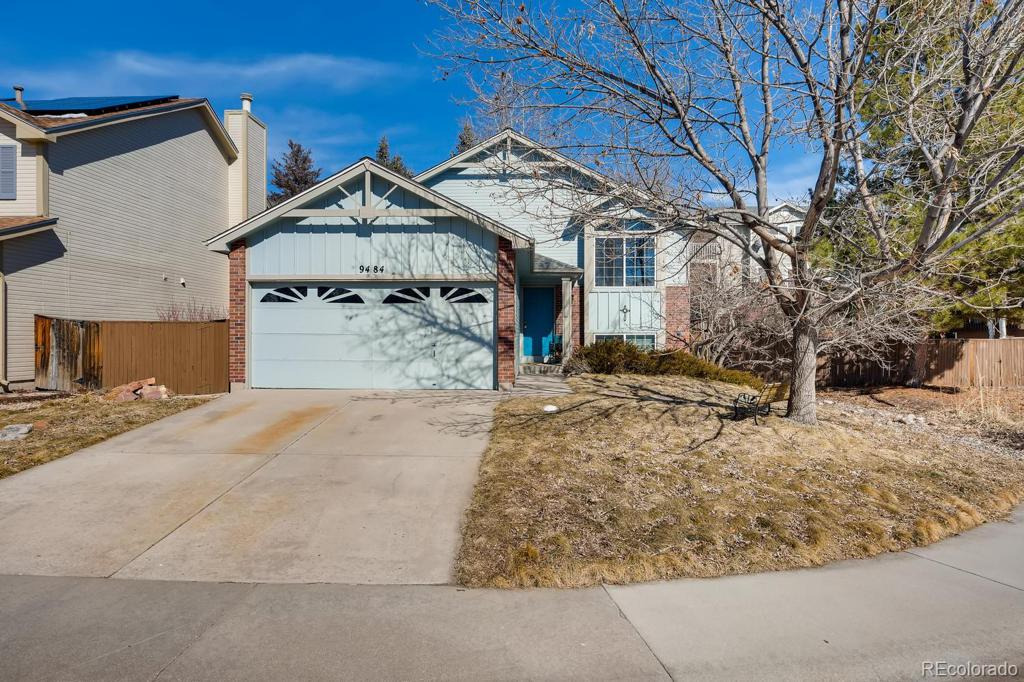 Photo of home for sale at 9484 Palisade Court, Highlands Ranch CO