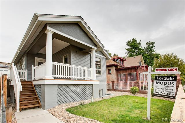 Photo of home for sale at 2139 Clay Street, Denver CO