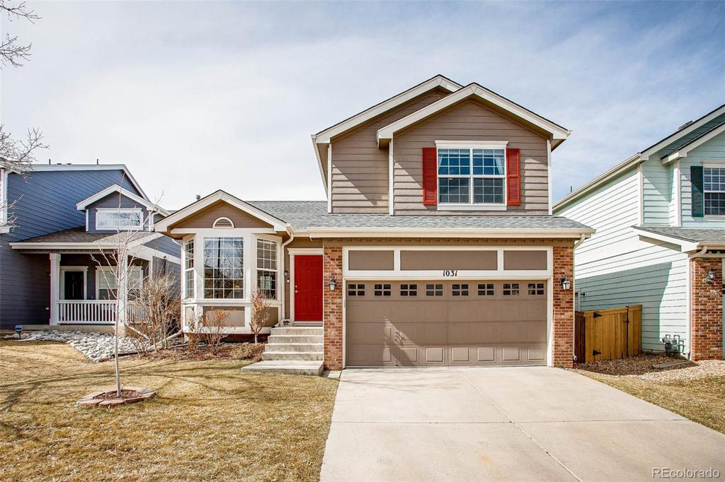 Photo of home for sale at 1031 Mulberry Lane, Highlands Ranch CO