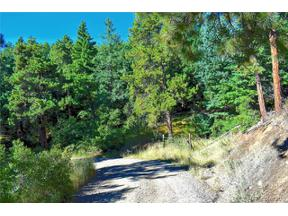 Property for sale at 00 Adahi Road, Indian Hills,  Colorado 80454