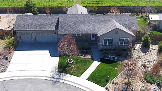 Photo of home for sale at 2340 Adams Court, Strasburg CO