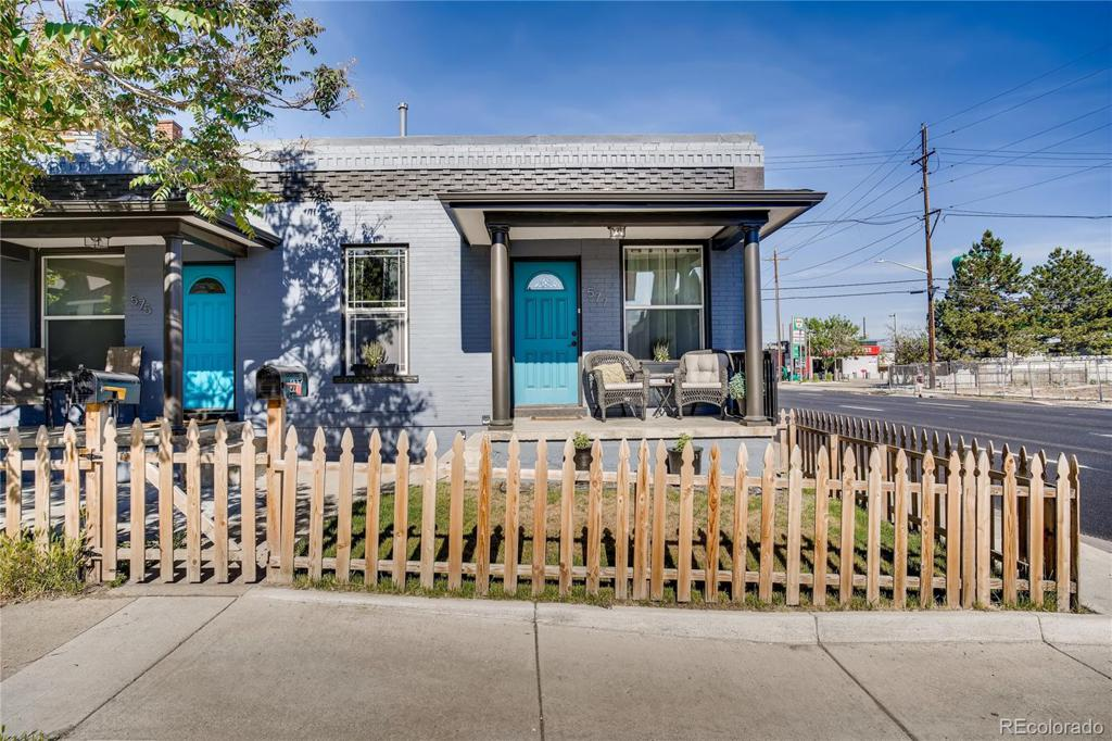 Photo of home for sale at 577 Inca Street, Denver CO