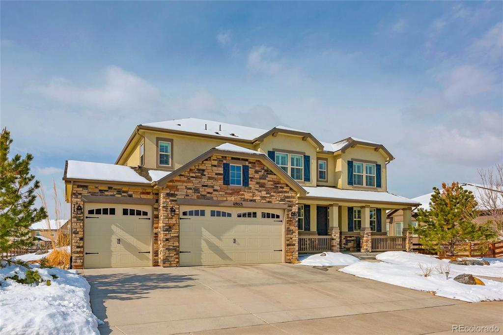 Photo of home for sale at 11953 Meander Way S, Parker CO