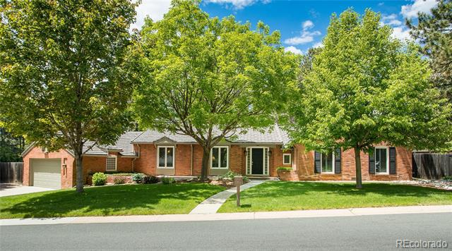 Photo of home for sale at 3941 Bellaire Street South, Cherry Hills Village CO