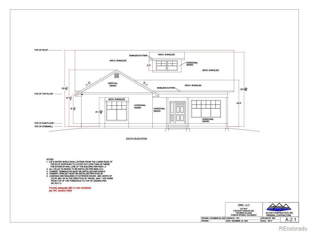 Photo of home for sale at 1132 Poncha Avenue E, Poncha Springs CO
