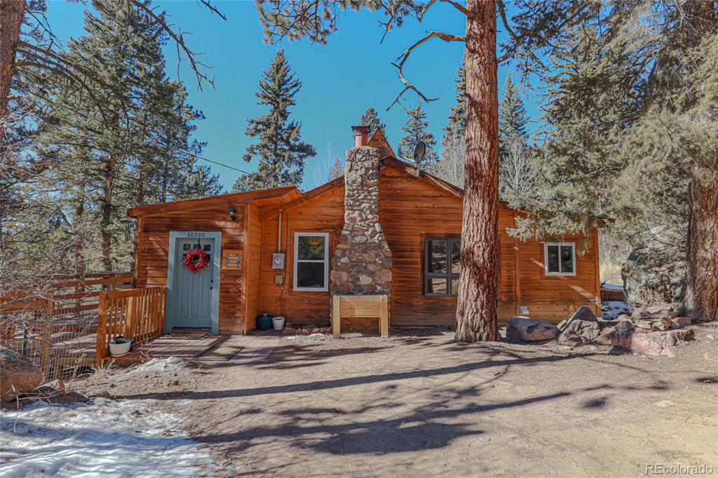 Photo of home for sale at 30930 Bear Cub Trail, Conifer CO