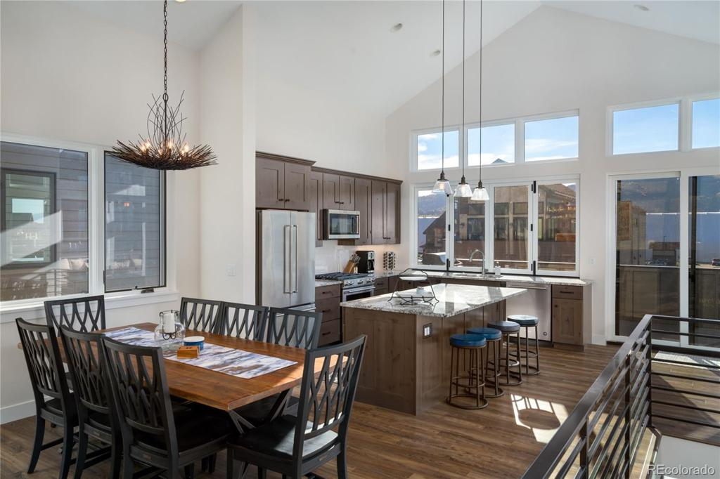 Photo of home for sale at 2540 Flat Tops Court, Steamboat Springs CO