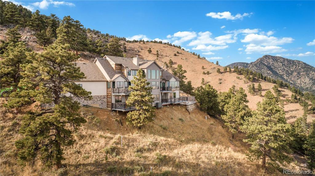 Photo of home for sale at 24994 Simmons Way, Golden CO