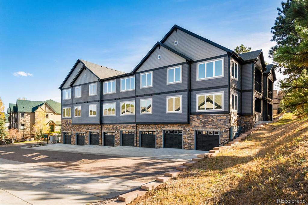 Photo of home for sale at 31192 Black Eagle Drive, Evergreen CO